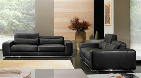 canapé cuir design luxe salon canape moderne