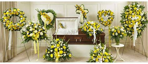 yellow flowers delivery to funeral homes in toronto gta
