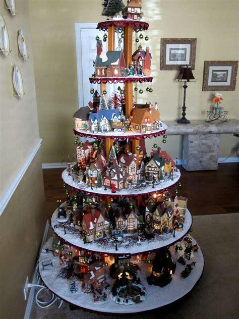 measurements christmas tree village display house display pattern dept 56 lemax easter ebay