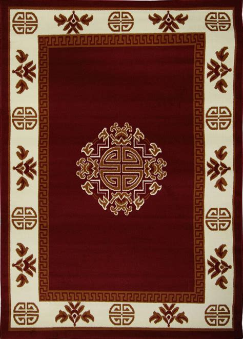 japanese rugs medallion area rug traditional 5x7 carpet actual 5 2 quot x 7 4 quot ebay