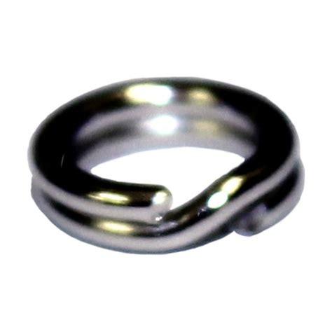 Mustad Stainless Split Rings kvd mustad split rings size 2 25 lb