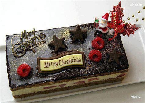 merry christmas chocolate cake