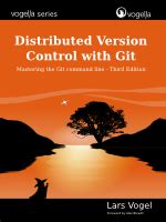 git tutorial lars vogel git typical workflows tutorial