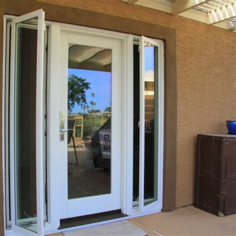 Patio Door Sidelights Single Patio Door With Sidelight Home Patio Patio Doors Patios And Doors