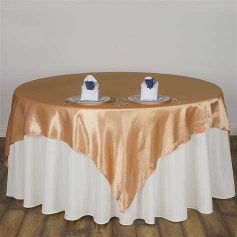 wedding table overlays 72x72 quot square satin table overlays wedding linens