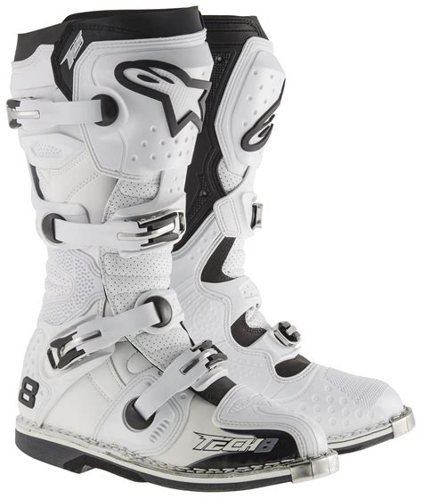 motocross boots size 8 alpinestars tech 8 rs vented boots revzilla