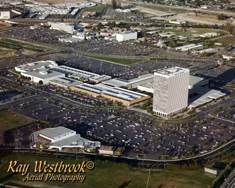 Garden Grove Ca Shopping Mall Aerial Photography