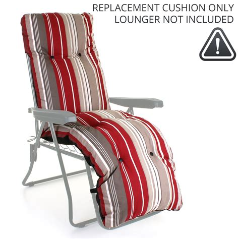 recliner sun lounger cushions sun lounger cushion outdoor garden patio recliner thick