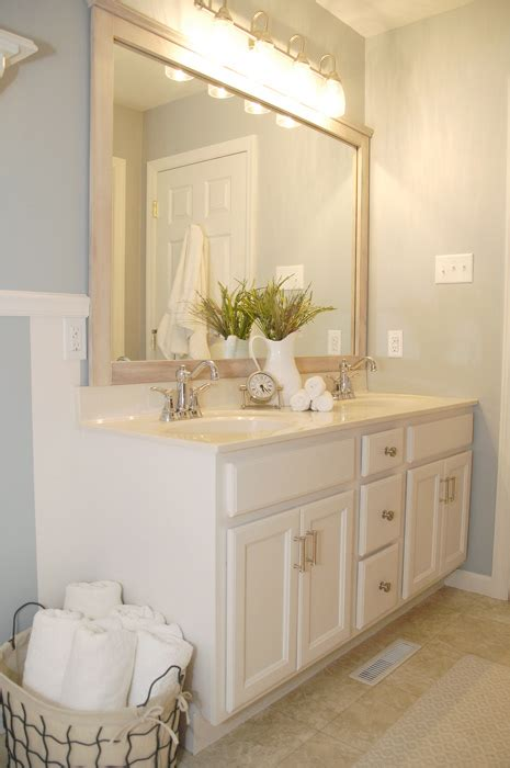 Bathroom Cabinet Transformation Living Rich On Bathroom Cabinets For Less