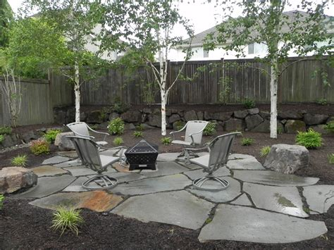 Idea For Backyard Backyard Pit Landscaping Ideas Fireplace Design Ideas