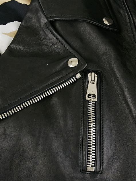 2 Die 4 Gucci Biker Jacket by Gucci Black Leather Motorcycle Jacket Size 14 48 Yoogi S
