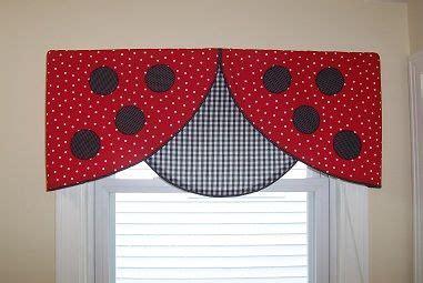 Ladybug Kitchen Curtains Ladybug Valance Curtains Ladybug Valance Window Creative And Kid