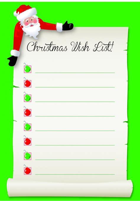 santa s wish list free download schoolstickers
