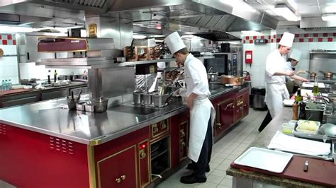 at the kitchen in the kitchen at alain ducasse au plaza ath 233 n 233 e