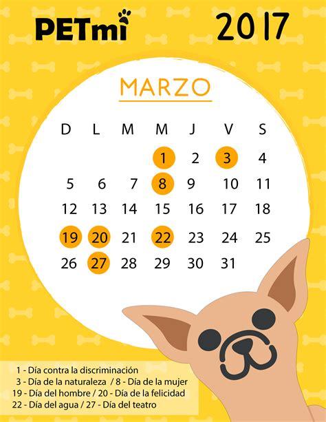 Calendario Con Fechas Festivas 2017 Calendario Petmi 2017 Fechas Importantes Para Las Mascotas