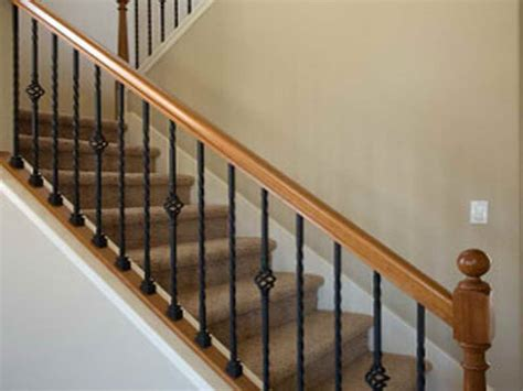 Interior Balusters by Replacement Railing For Interior Stairs 18 Photos Of The