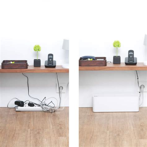 desk cable management organizer cablebox by blue lounge