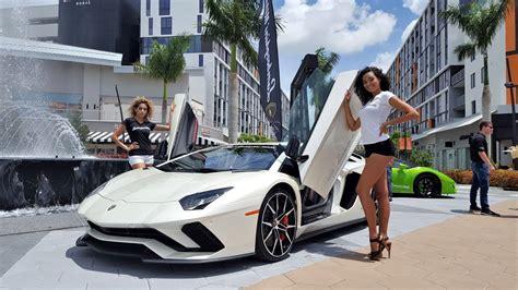 hot chick lamborghini hot cars hot girls lamborghini miami supercar paradise