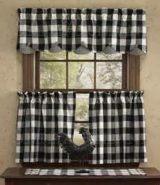 scalloped valance by park designs 72 quot x 14 quot black