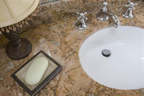 bathroom countertops top surface materials 5 bathroom countertop materials from good to best