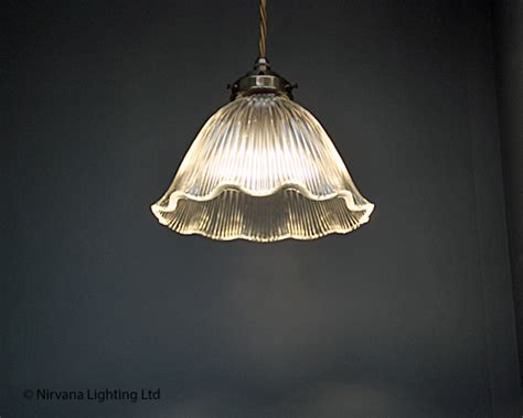petal pendant light petal holophane glass pendant light nirvana lighting