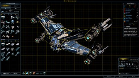 Ship Designer galactic civilizations ship designer
