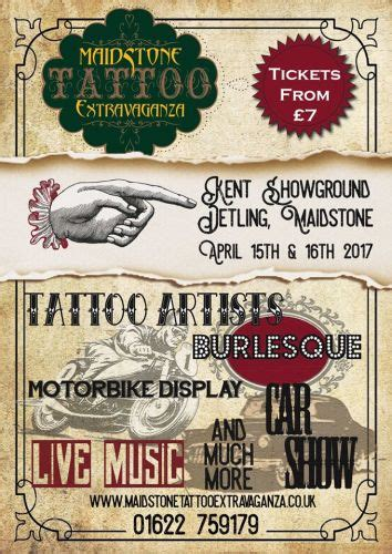 tattoo prices maidstone biker rallies motorcycle events shows uk
