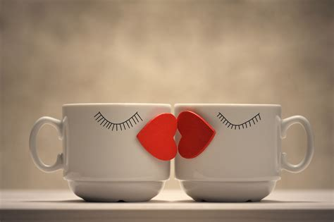 wallpaper coffee cup love wallpaper kiss lips love hearts coffee mugs 4k love 999