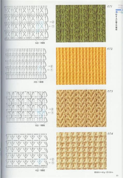 knit stitch diagram 360 best images about crochet stitches and diagrams on