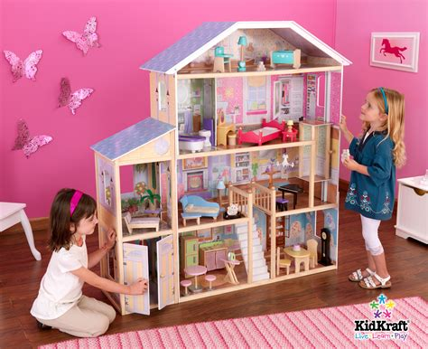 pics of doll houses kidkraft majestic mansion dollhouse 65252