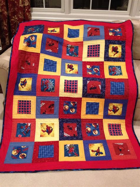 pattern for spiderman quilt 12 best ideas about marvel quilts on pinterest red and