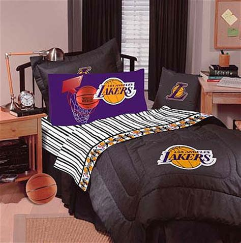 Lakers Bed Set Los Angeles La Lakers Comforter With