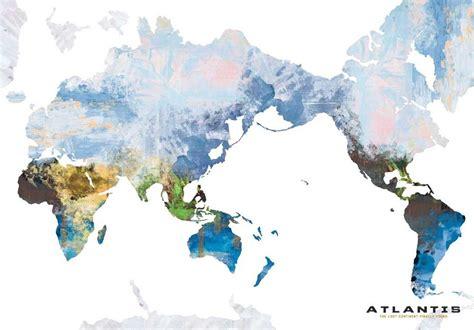 pleistocene world map  tebhex  deviantart
