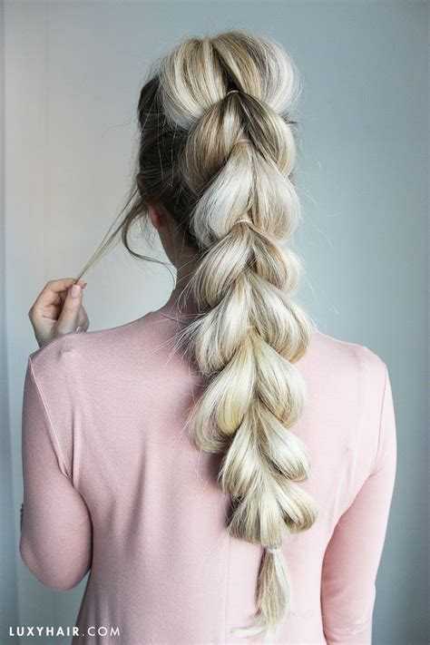 How To Do Braids Hairstyles by 25 Best Ideas About Pull Through Braid On