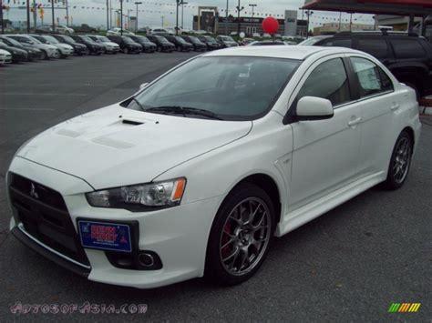 2011 Mitsubishi Lancer Evolution Mr by 2011 Mitsubishi Lancer Evolution Mr In White
