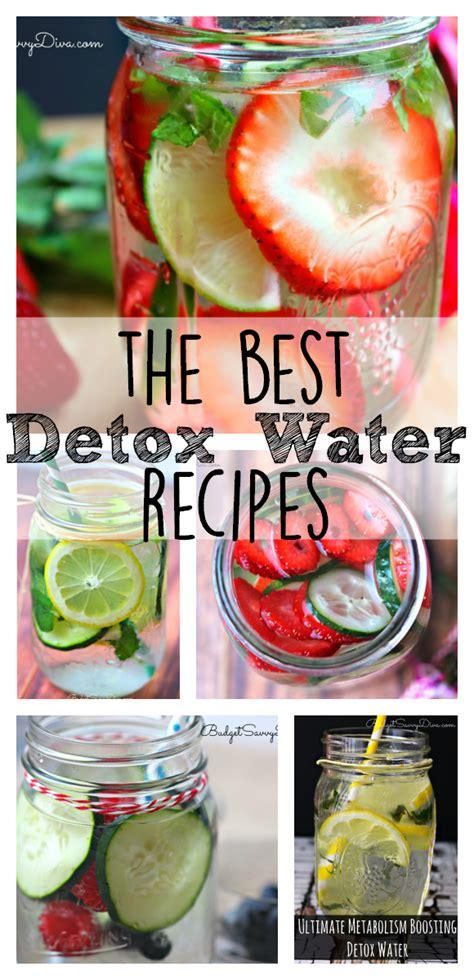 best healthy detox the best detox water recipes food best detox water