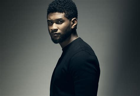 Is Usher by Exclusive Usher Previews New Talks New Lp With