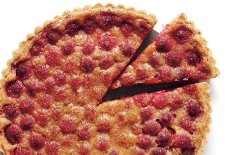 raspberry recipes brown butter raspberry tart recipe epicurious com