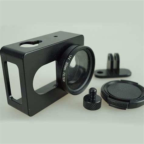 Pelindung Xiaomi Yi jual pelindung xiaomi yi bahan alumunium uv filter takkii shop