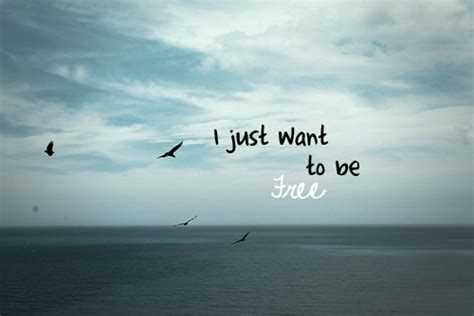 i want to be i just want to be free by miichb on deviantart