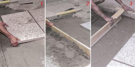 Piastrelle X Giardino - come posare le piastrelle da giardino su sabbia guida