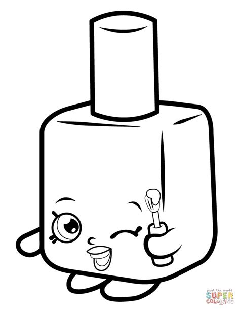shopkins coloring pages lippy lips shopkins lippy lips coloring page download shopkins