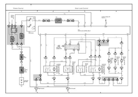 rav4 window motor diagram wiring diagrams repair wiring
