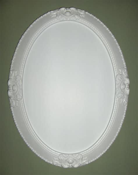 white oval bathroom mirror white oval mirror vanity mirror nursery mirror by wallaccents