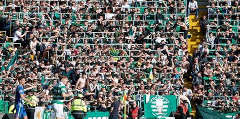 celtic park standing section northton to introduce safe standing at sixfields and