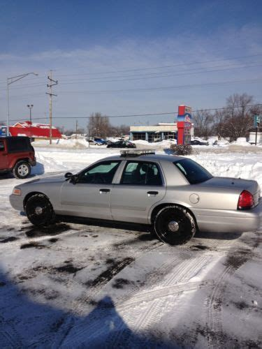 all car manuals free 2009 ford crown victoria security system buy used 2009 ford crown vic police interceptor with all lights and sirens in rensselaer