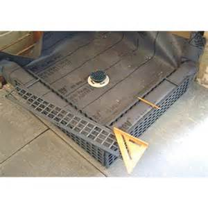 kirb shower curb tools4flooring