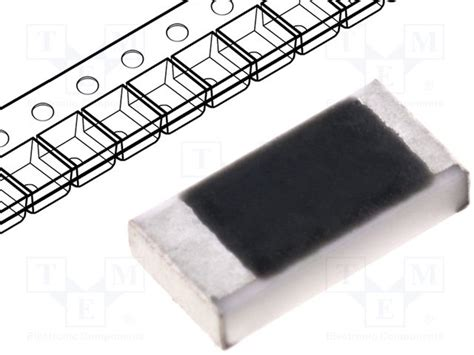 1002 smd resistor tc0625b1002t1e royal ohm resistor thin tme electronic components