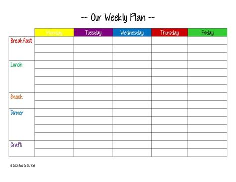 printable meal planner monthly printable weekly meal planner new calendar template site