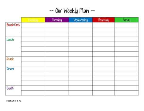 printable meal planner weekly printable weekly meal planner new calendar template site